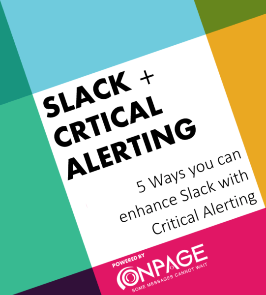 5 Ways to Enhance Slack through Critical Alerting whitepaper