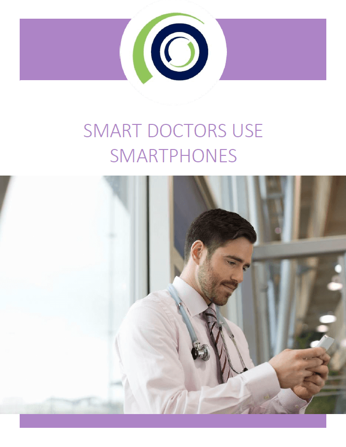 smart doctors use smartphones cover