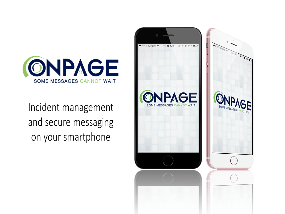 OnPage gives you secure messaging