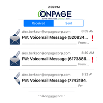 OnPage team messaging
