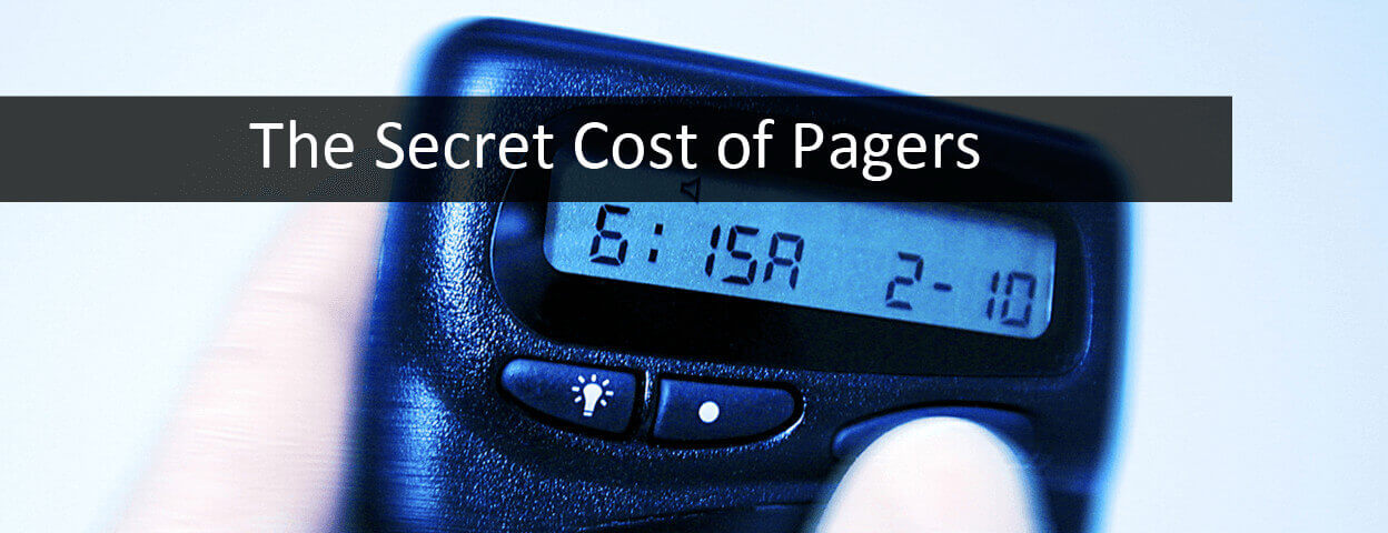 Pager inefficiencies cost hospitals millions